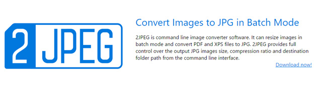 Image to jpeg converter