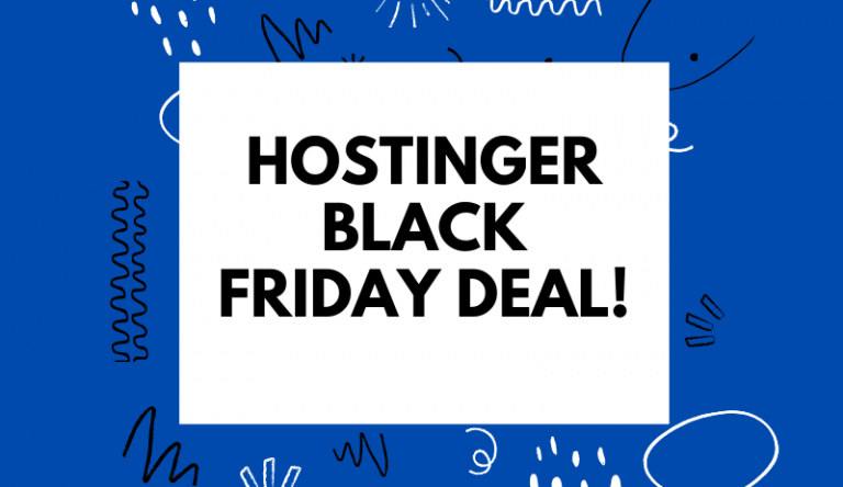 Hostinger-Black-Friday-Deal