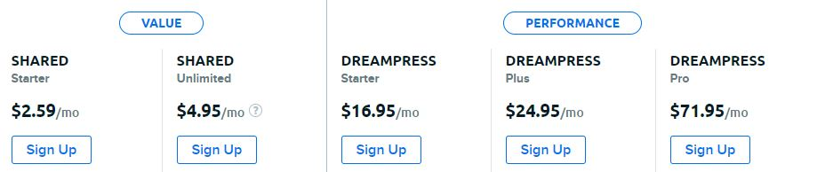 dreamhost-pricing
