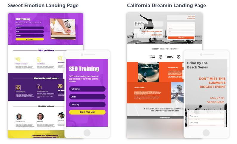 Moosend-Landing-Pages